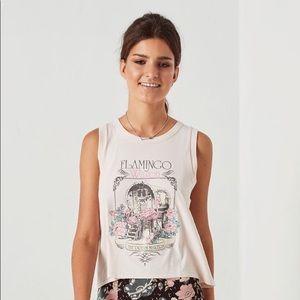 BNWT Spell Designs Flamingo wagon tank